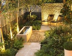 Small Garden Design Pictures Gallery dry stone wall, water tough, small garden small garden pictures