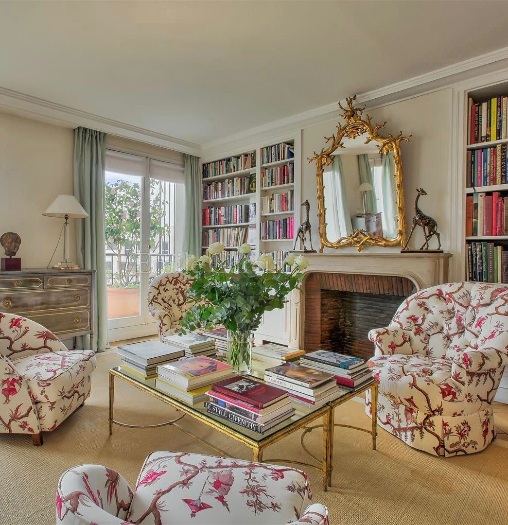 Apartments For Sale: Lee Radziwill's Paris Apartment Is For Sale