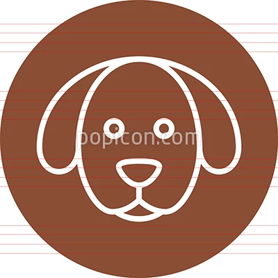 Generic Stylized Dog S Head Outline Icon Animal Icon Outline Stylized