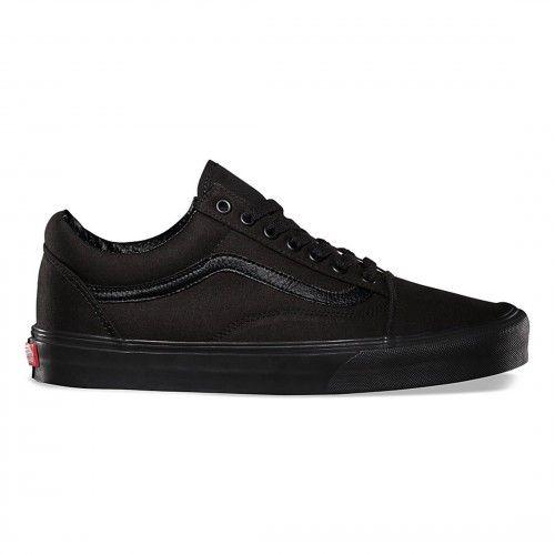 Vans Old Skool Shoes (Canvas) Black/Black - Vans Netherlands Official  Online Store