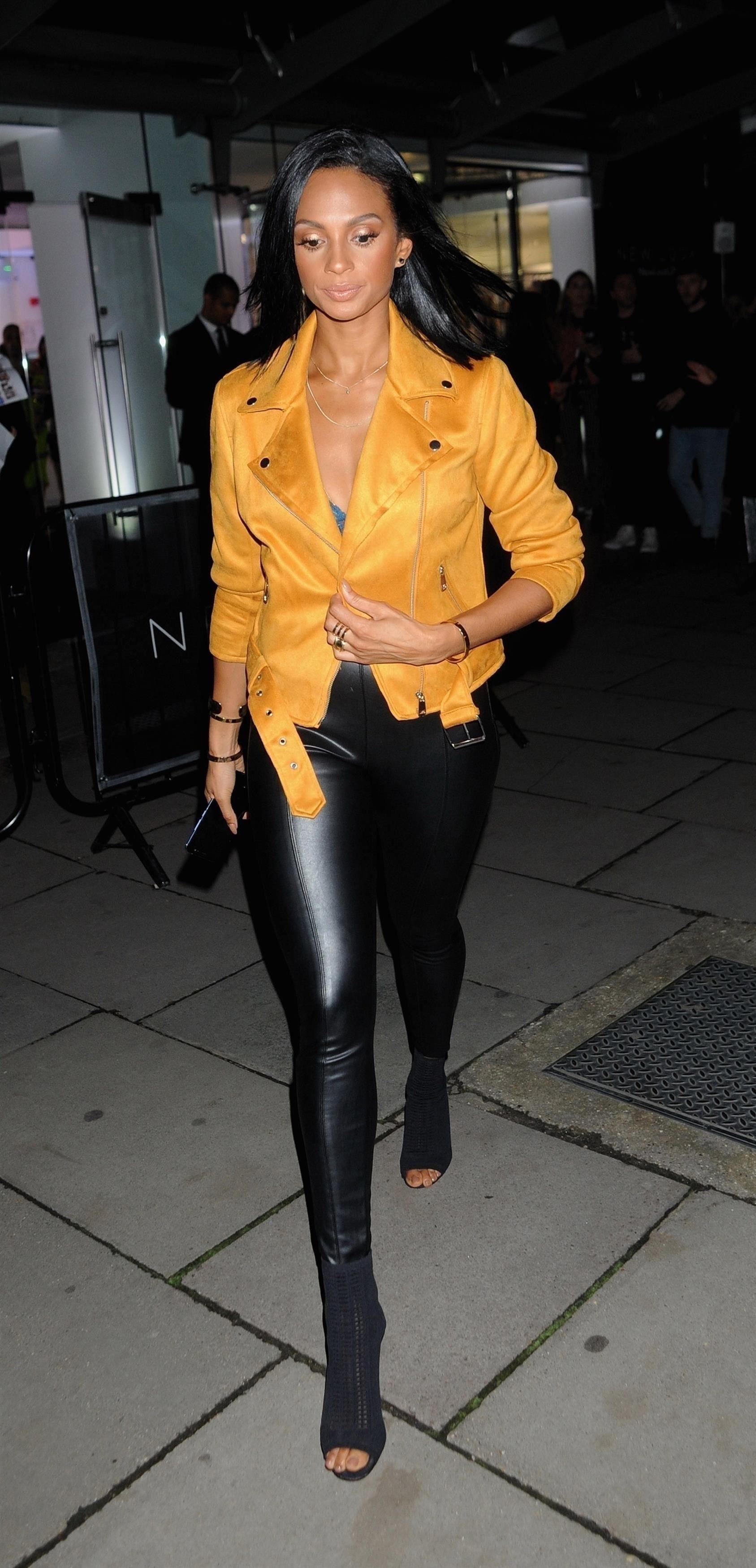2882e96e9127 Alesha Dixon attends Fashion Council London Fashion Week Launch Party