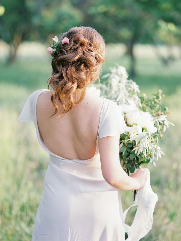 Timeless and Neutral Bridal Inspiration Shoot  | fabmood.com #bridal #styledshoot
