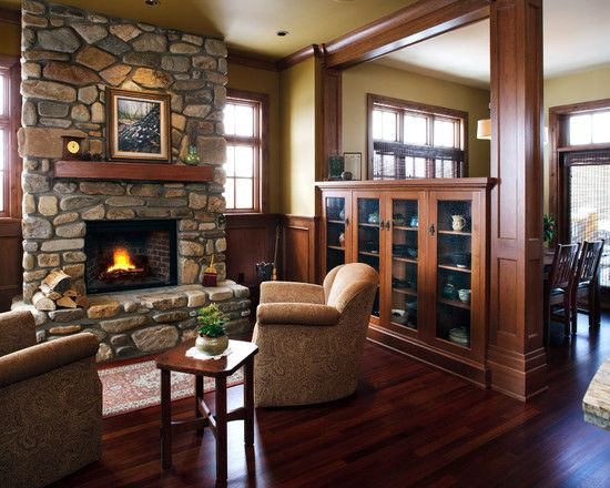 Traditional Living Room Room Dividers Design Pictures Remodel