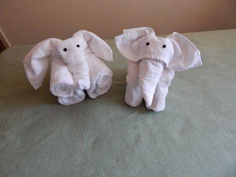 Como Hacer Un Elefante Con Toallas