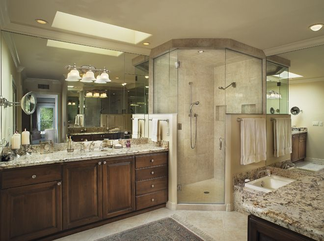 Custom Master Bathrooms tucson, az master bathroom - adding a custom steam shower to your