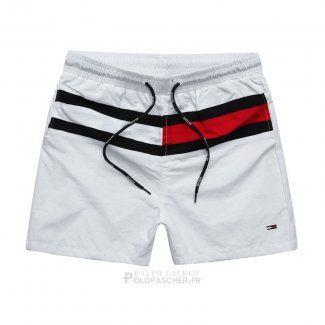 ad35165a76 Ralph Lauren Homme Shorts Lacing Stripe Blanc - Ralph Lauren Homme Shorts  Lacing Stripe Blanc