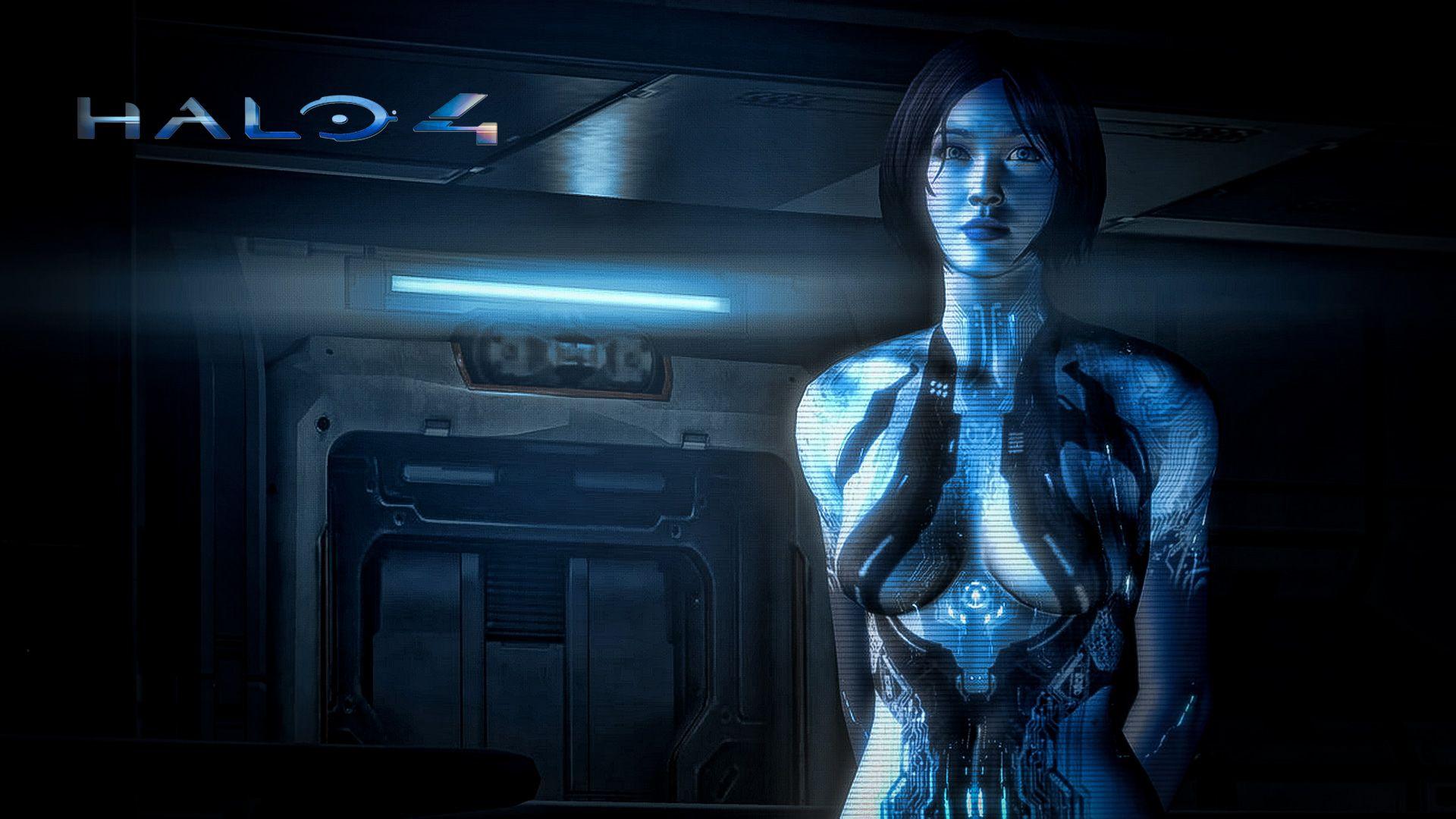 Cortana Halo 4 Wallpaper Hd