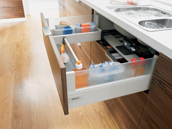 Edle Möbel für mehr Wohnkultur Stauraum, Zusätzlich und Schubladen - schubladen küche nachrüsten