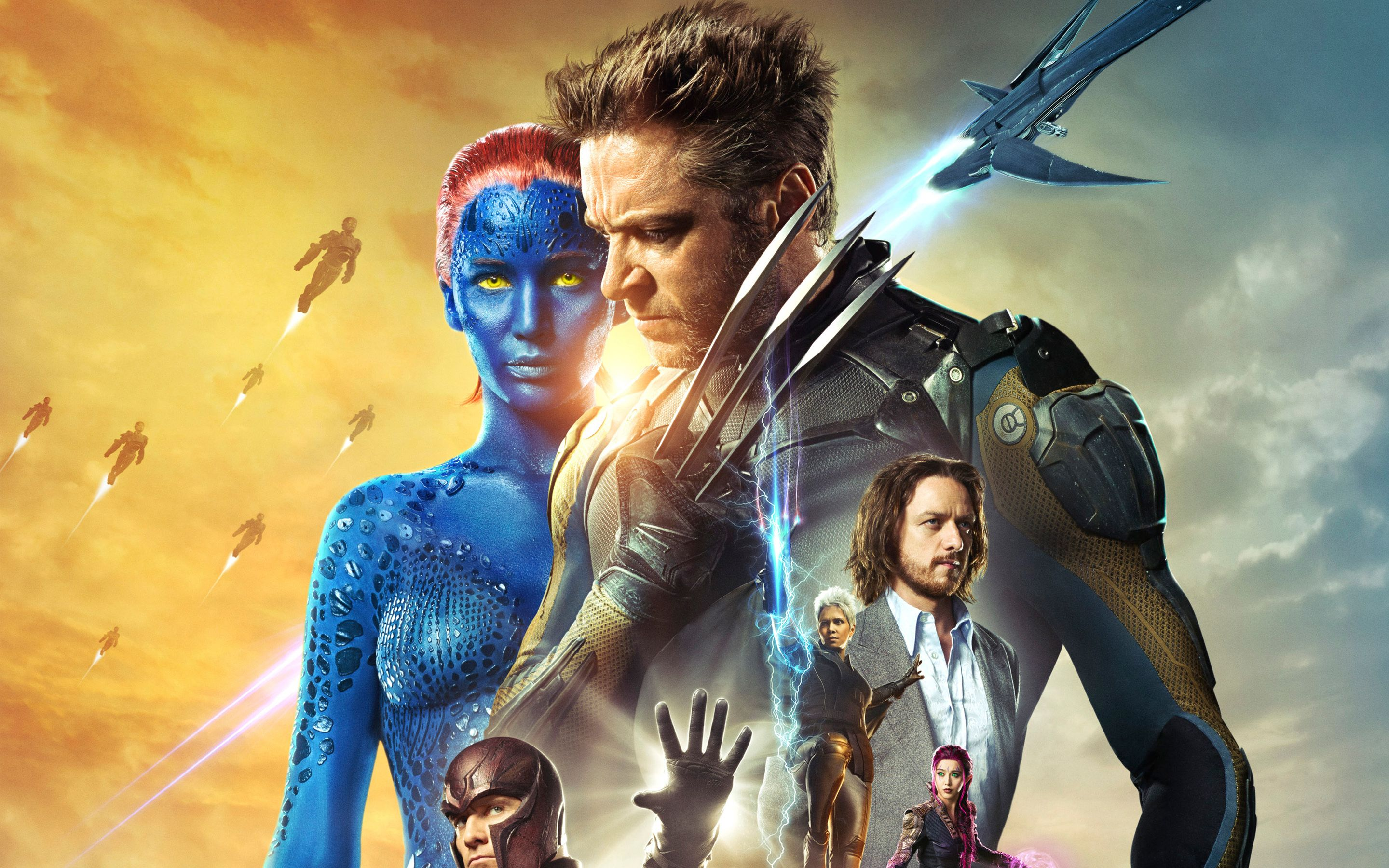 X Men Days Of Future Past Wallpaper Mobile Xay Days Of