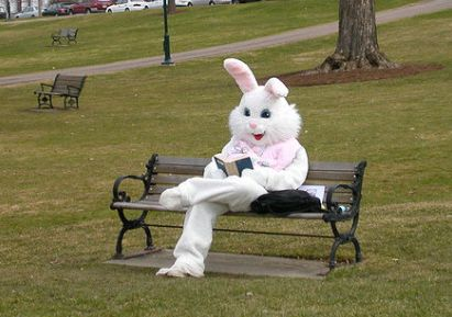 Image result for easter reading a book
