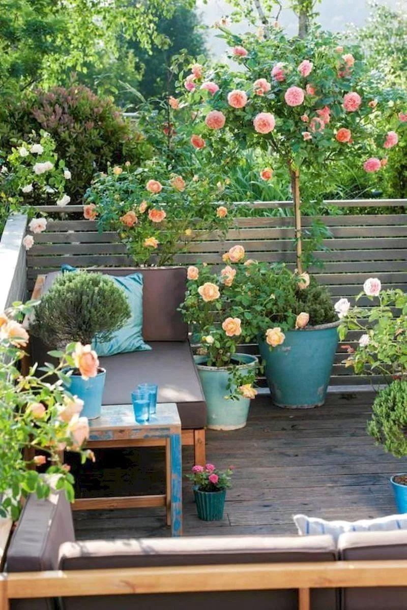 50 Beautiful Flower Garden Design Ideas 28 Home Decor Diy Design Small Balcony Garden Potted Trees Garden Design