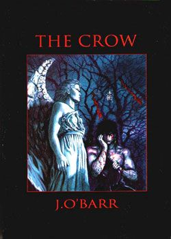 The Crow is a comic book series created by James O'Barr. The series was originally written by O'Barr as a means of dealing with the death of his girlfriend at the hands of a drunk driver. It was later published by Caliber Comics in 1989, becoming an underground success, and later adapted into a film of the same name in 1994. Three film sequels, a television series and numerous books and comic books have also been subsequently produced.