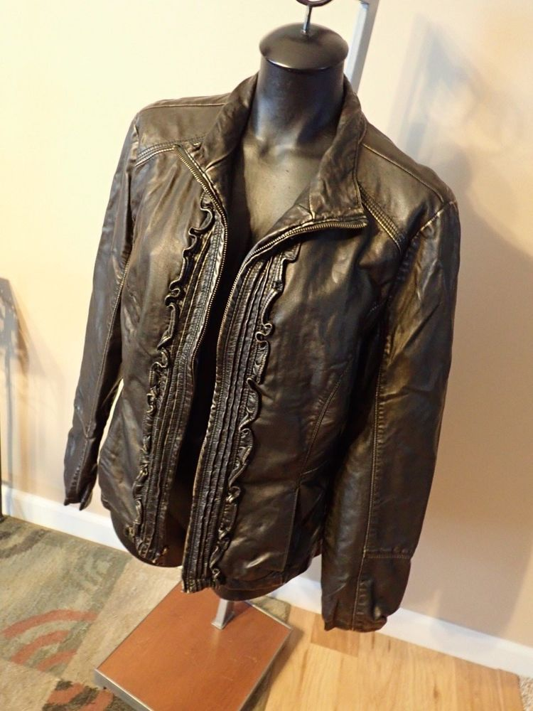 fauz outerware chill vintage Big leather