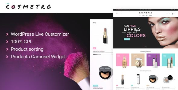 Cosmetro - Cosmetics Store WooCommerce Theme - https://themekeeper ...