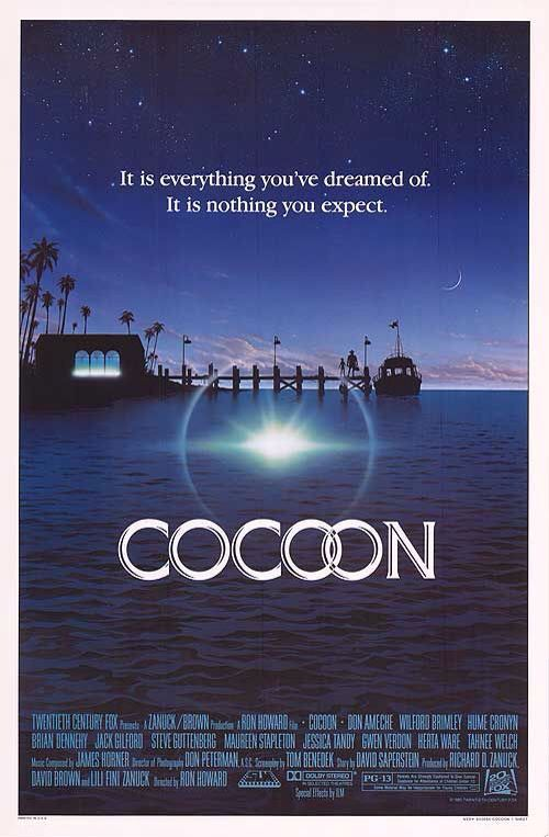 Poster From The Film Cocoon With Images 1980 S Movies 80s