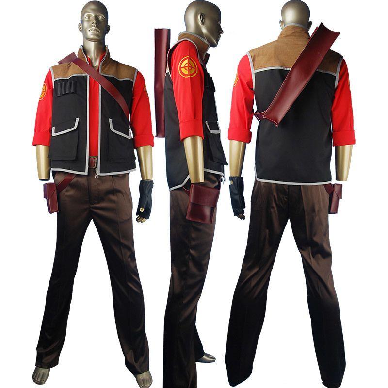 Team Fortress 2 cosplay costume TF2 sniper shooter uniform suit - team halloween costume ideas
