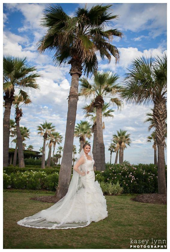 Hotel Galvez Bridals / Kasey Lynn Photography