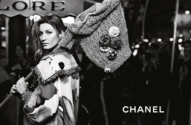 Gisele Bündchen for CHANEL CAMPAIGN  SPRING 2015