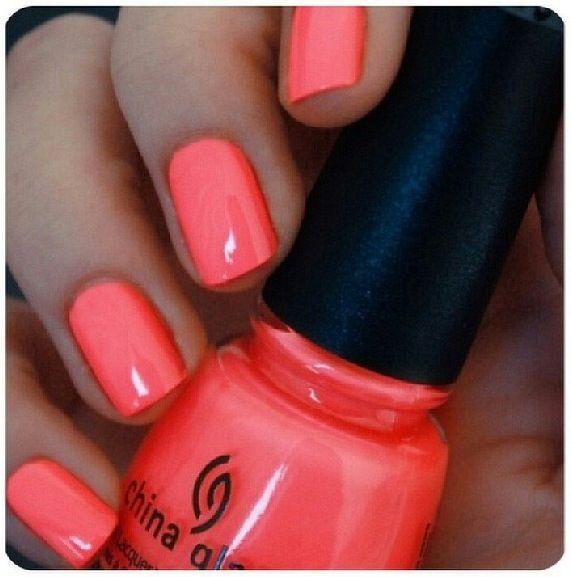 Summer Nail Colors: Best 25+ Coral Nail Polish Ideas On Pinterest