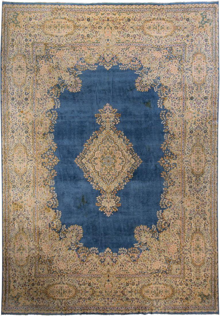 Iran Kerman Size 13 6 X 19 7 I Oscar Isberian Rugs Chicago Rugs Kerman Rugs Rugs On Carpet