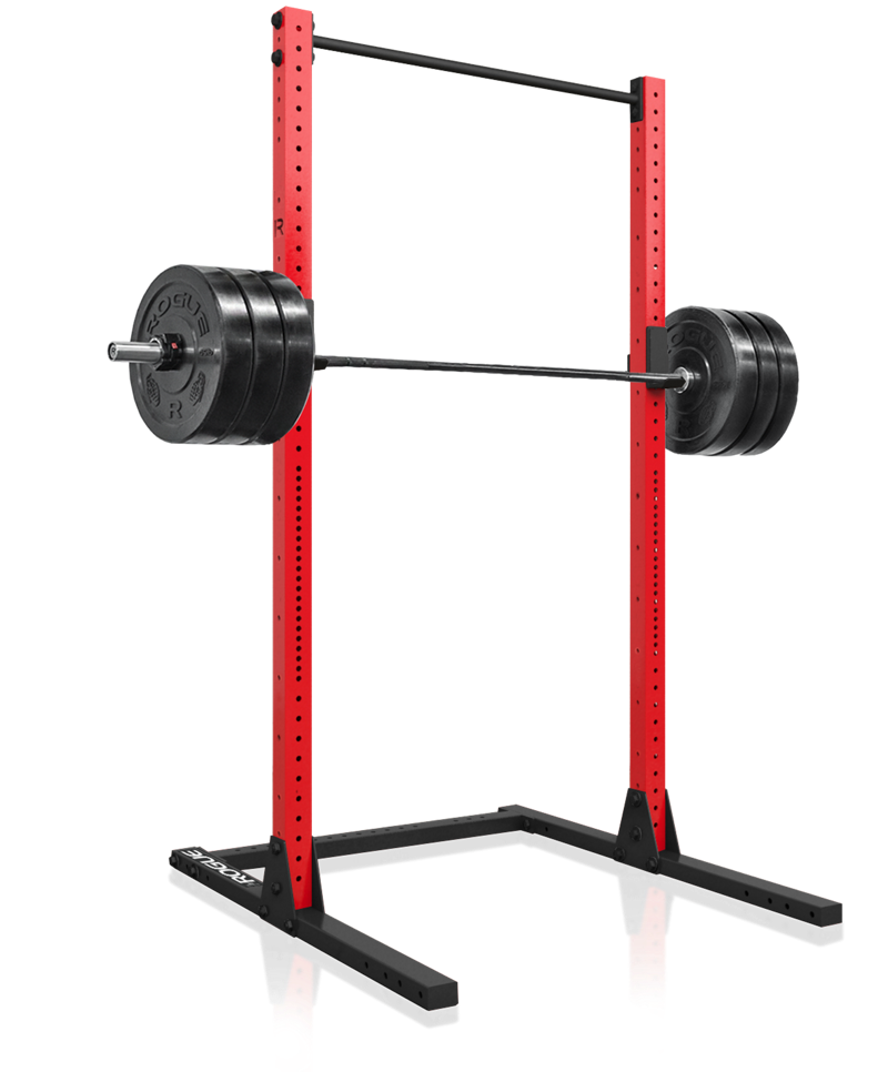Rogue sml c squat stand home gym squat stands squats power rack