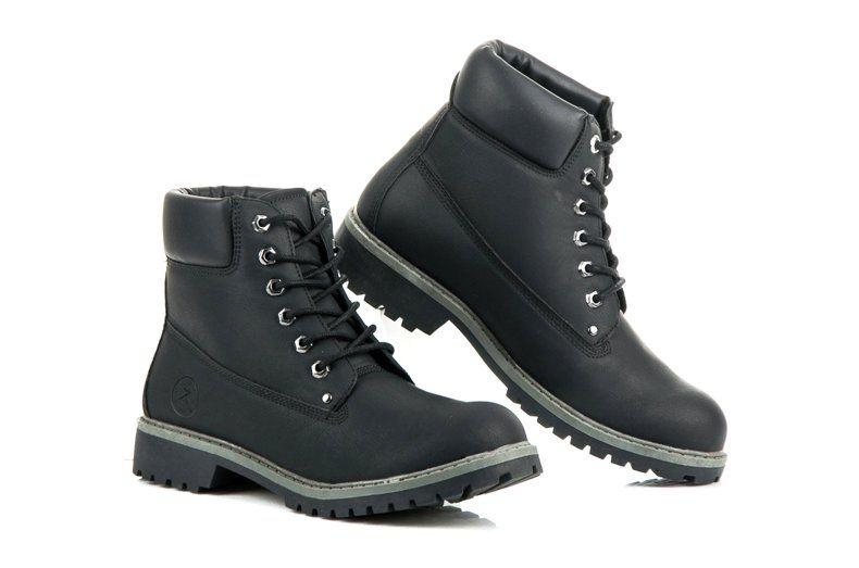 Trekkingowe Meskie Mckeylor Czarne Meskie Trapery Z Ociepleniem Mckeylor Boots Hiking Boots Timberland Boots
