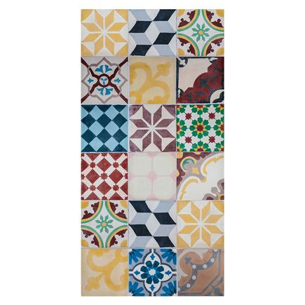 Alfombra de cocina mosaico vintage ref 17487960 leroy - Alfombra de cocina ...
