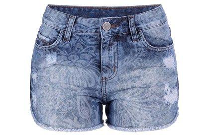 Vans Femme Shorts en jean Short en jean vintage indigo