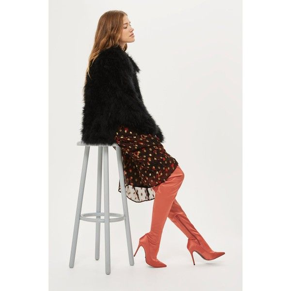 e8bf237fc50 Topshop Bellini Sock Boots (36 AUD) ❤ liked on Polyvore featuring shoes