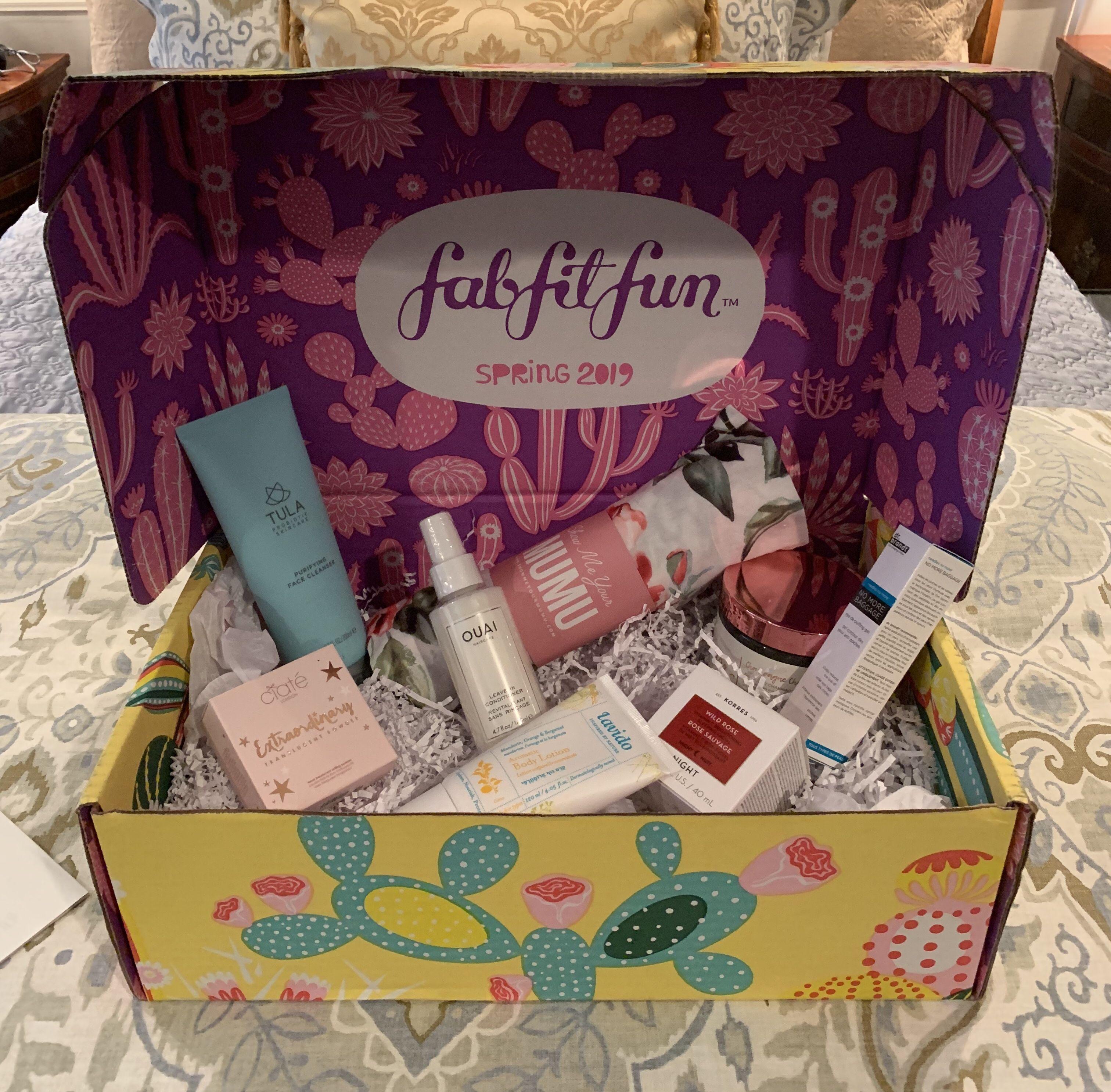 Fab fit fun spring 2019 box fab fit fun box fabfitfun