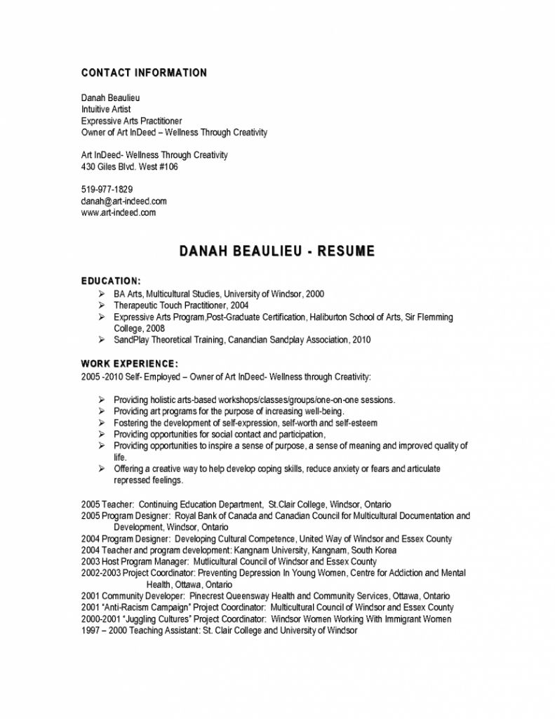 dentist resume example