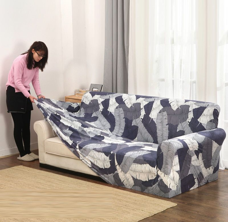 Cheap Full Sofa Cover Buy Quality Sofa Cover Directly From China Sofa Tight Wrap Suppliers Slipcov Slip Covers Couch Slipcovered Sofa Couch Covers Slipcovers