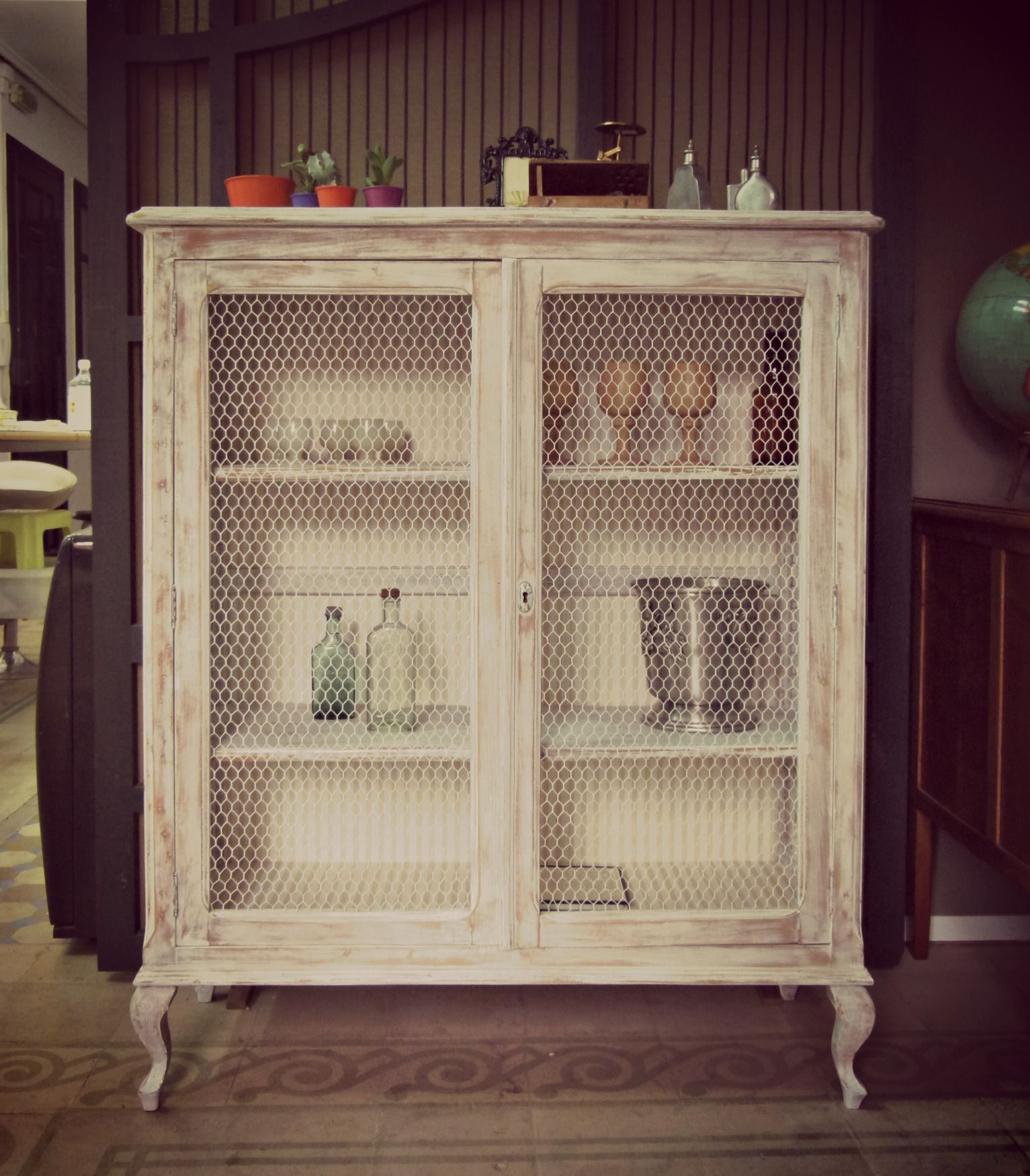Mueble Restaurado Por Antes Y Despu S Muebles Pinterest  # Muebles Restaurados Baratos
