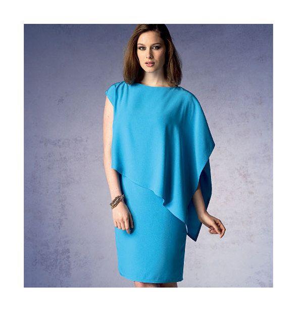 VOGUE COCKTAIL DRESS Pattern Sexy Dress Vogue 1373 Tom & Linda Platt ...