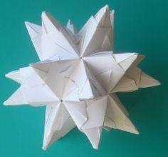anleitung zum bascetta stern weihnachten origami stars origami und christmas. Black Bedroom Furniture Sets. Home Design Ideas