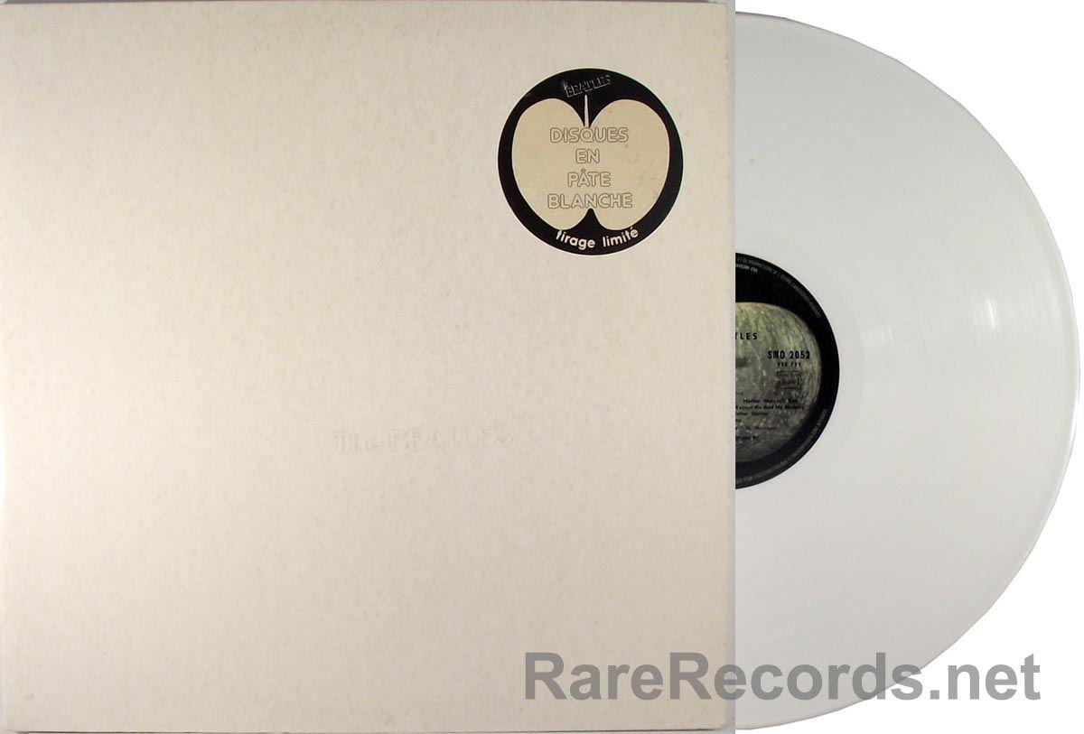 Beatles White Album White Vinyl France 2 Lp Set Beatles White Album The Beatles Beatles Albums