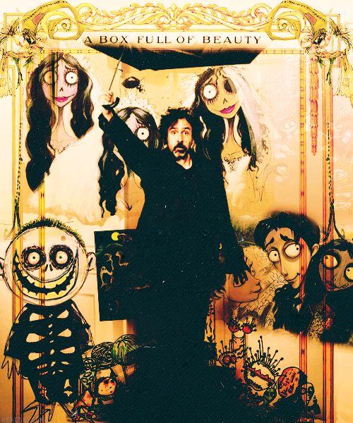 box of beauty      maggiemiaasked:Johnny Depp or Tim Burton