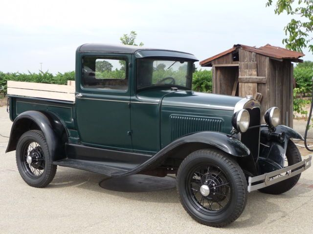 1930 Ford Model A Pickup Original Barn Farm Fresh California