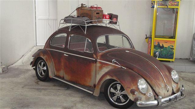 Volkswagen OVAL HOOD RIDE, RAT LOOK Sedan 1956