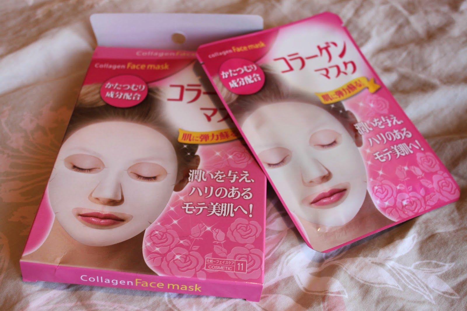 Bought these Japanese sheet masks from Daiso as well as a
