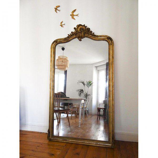 miroir baroque pour agrandir la piece decoration
