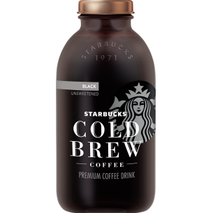 Starbucks Bottled Cold Brew Black Unsweetened Calories
