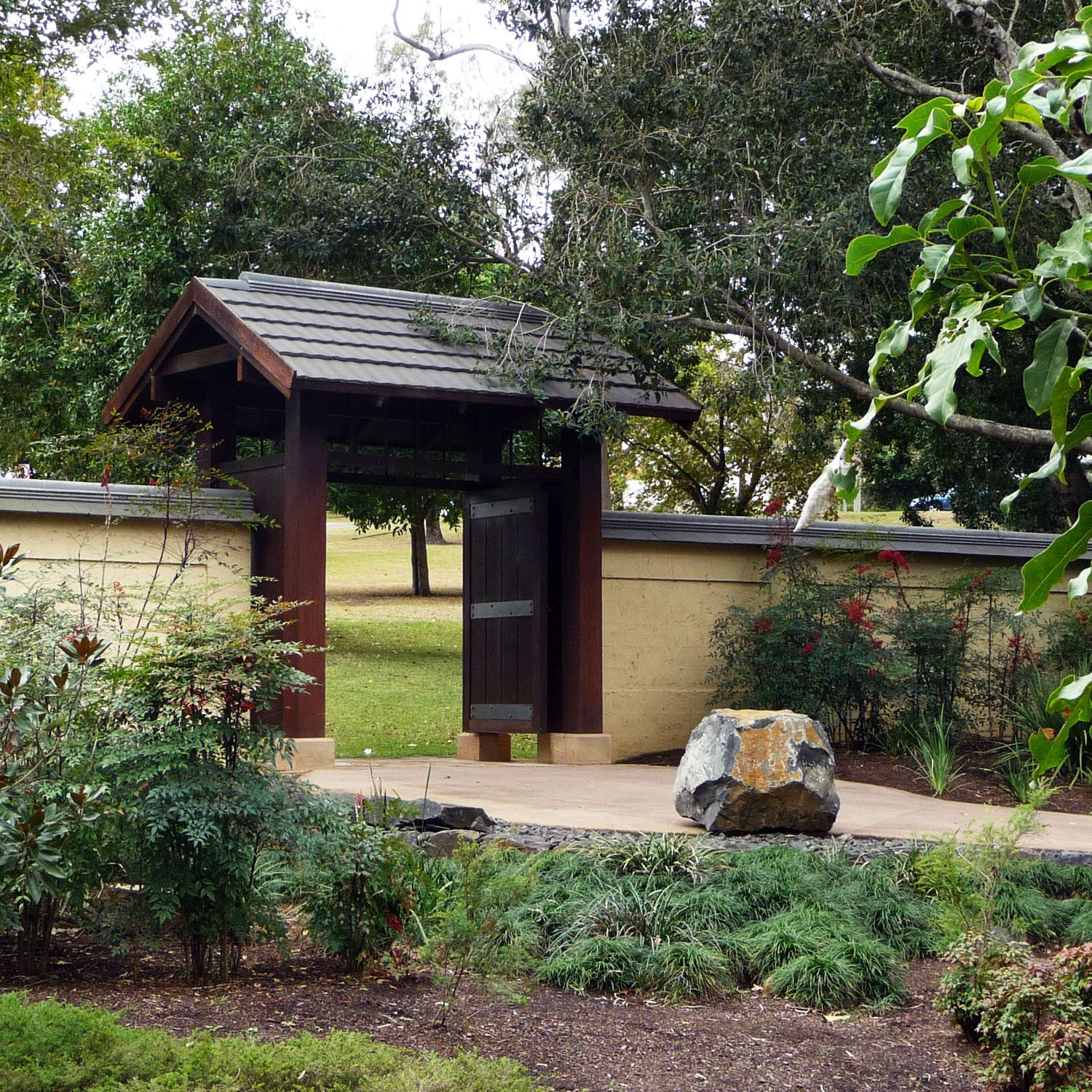 Gate House For Nerima Gardens (Ipswich, QLD) By Lange