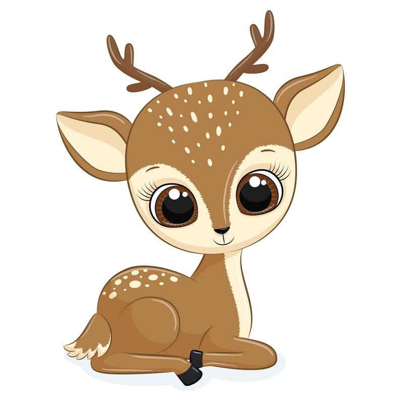 Mother And Baby Deer Clipart Png Eps Jpeg Baby Deer Clip Art Cute Animals Animal Clipart Baby Animal Prints Baby Deer