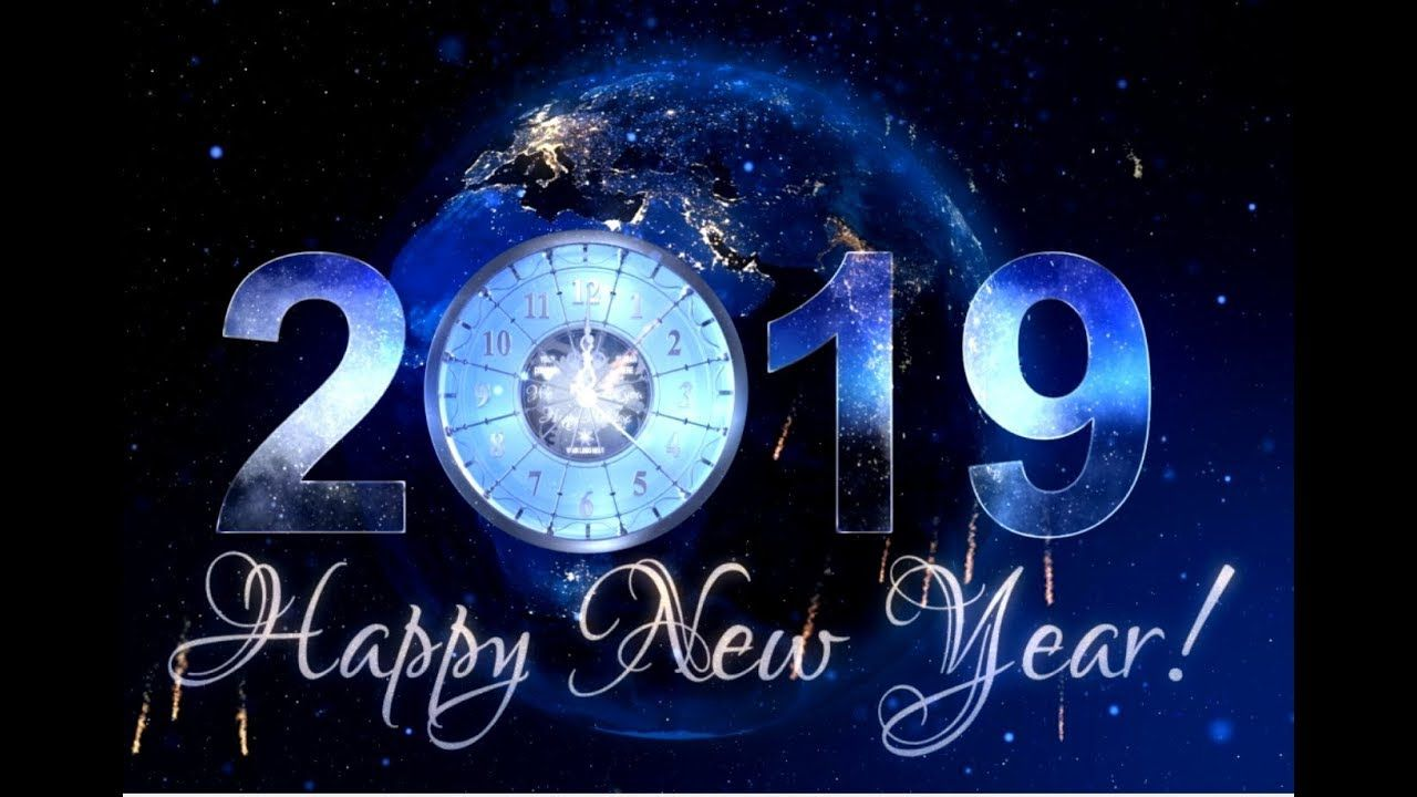 New Year Countdown Clock 2019 Epic Inspiration YouTube