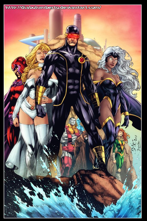 X Men Utopia By Diabolumberto On Deviantart X Men Marvel Superheroes Marvel Heroes