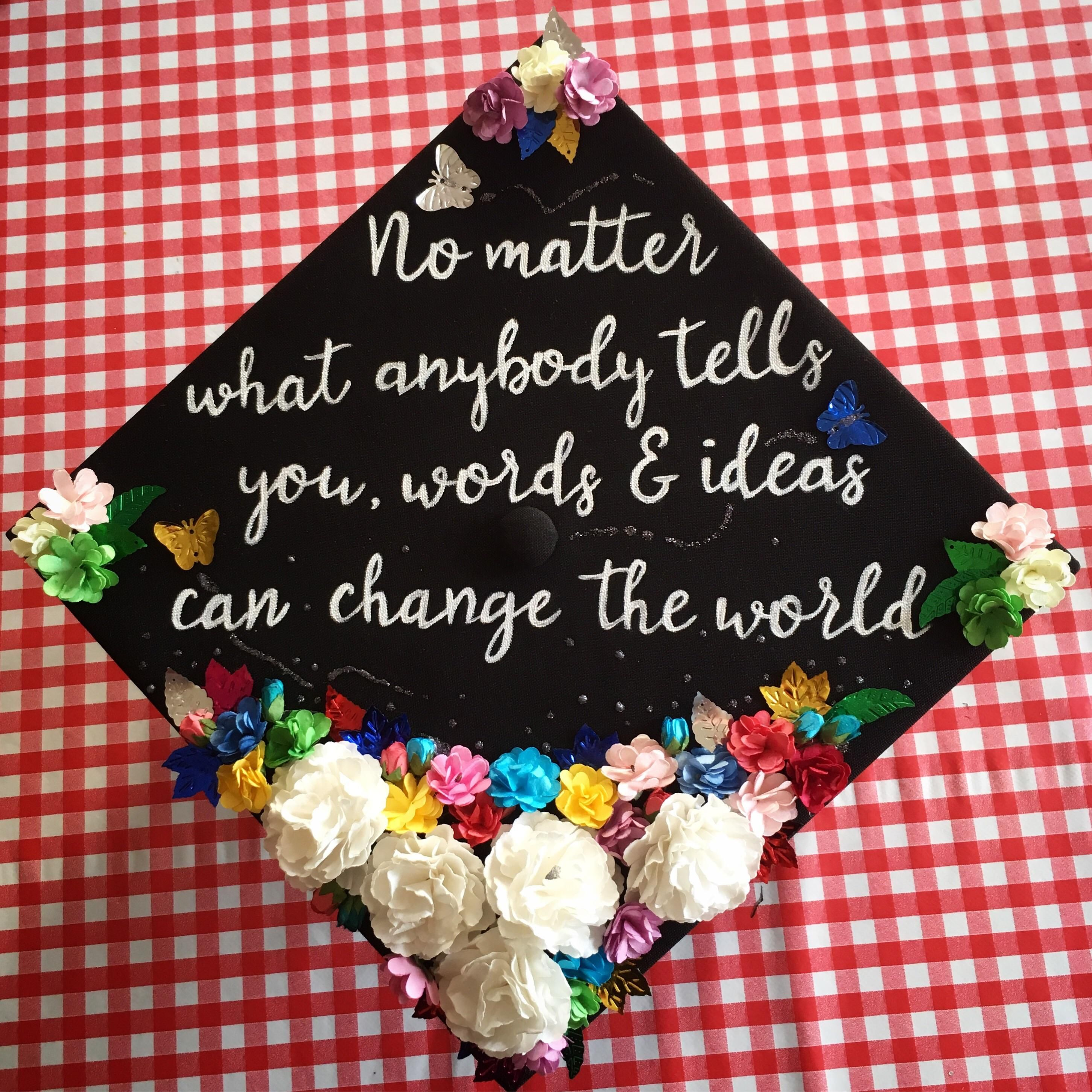 Medium Of Graduation Cap Quotes