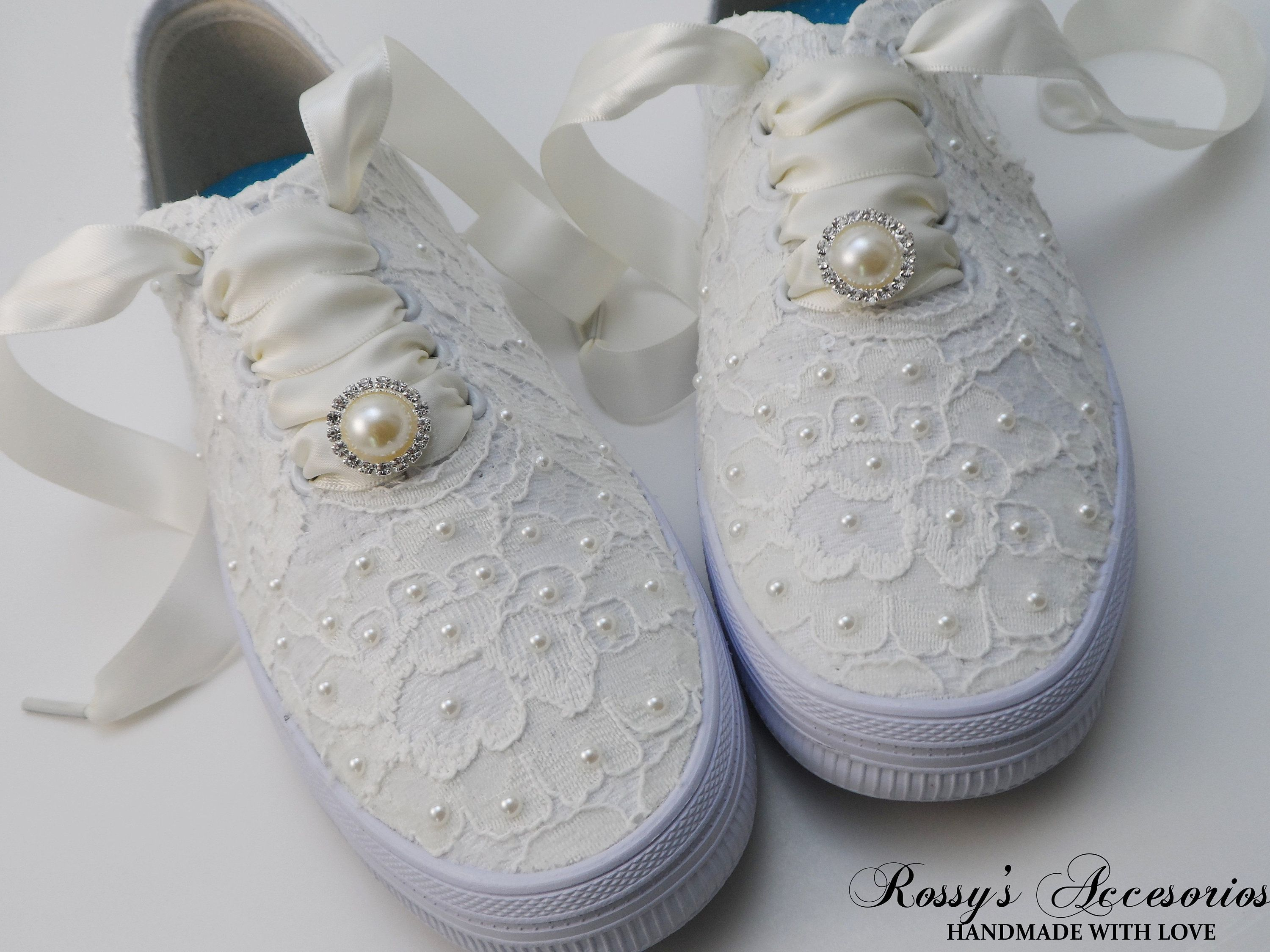 keds with pearls