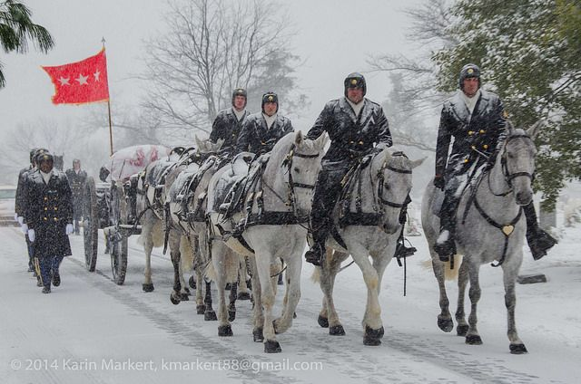 Snow Day 21 Jan 2014 - The Old Guard on government shutdown in DC