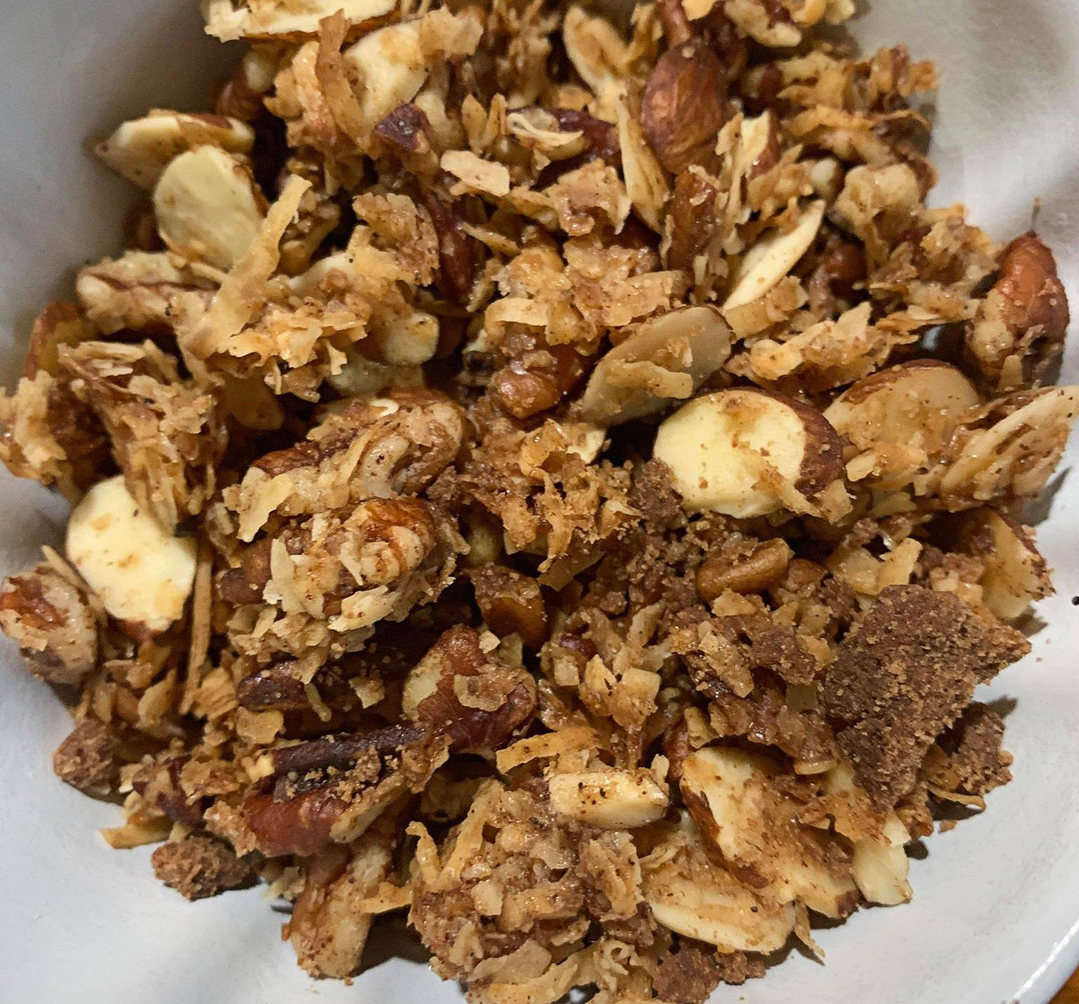 Photo of 10 OZ. KETO CINNAMON GRANOLA